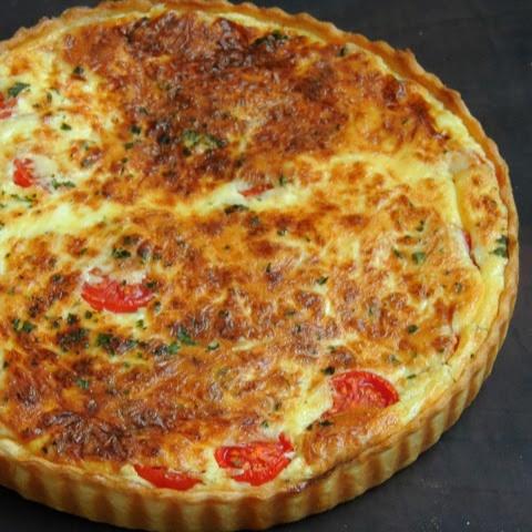How to make Quiche aux Tomates/Tomato Quiche