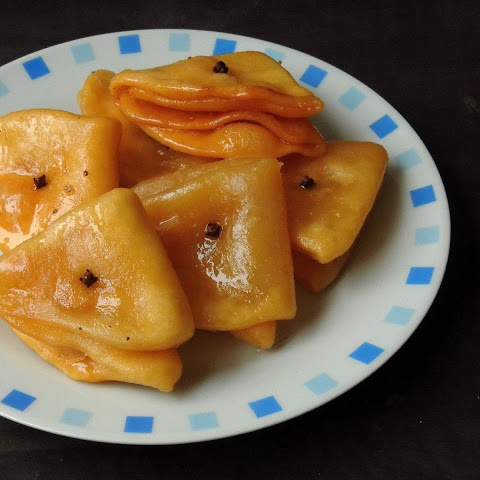 How to make Badam Puri/Sweet Almond Puri/Badam Poori