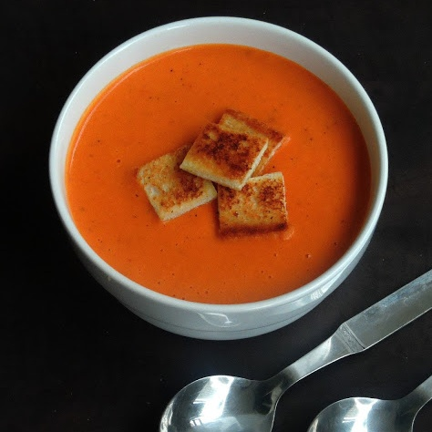 Photo of Tomato Bisque/Indo-French Tomato Bisque by Priya Suresh at BetterButter