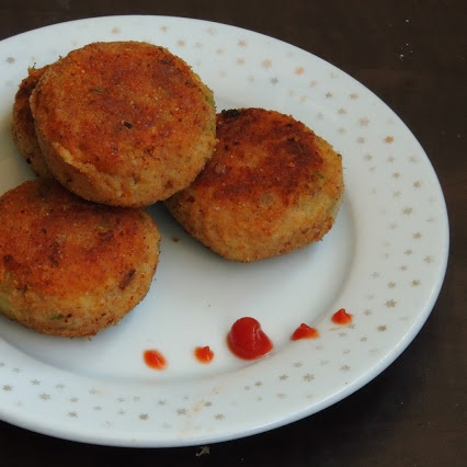 Photo of Aloo Paneer Kebab/Potato Paneer Kebab by Priya Suresh at BetterButter