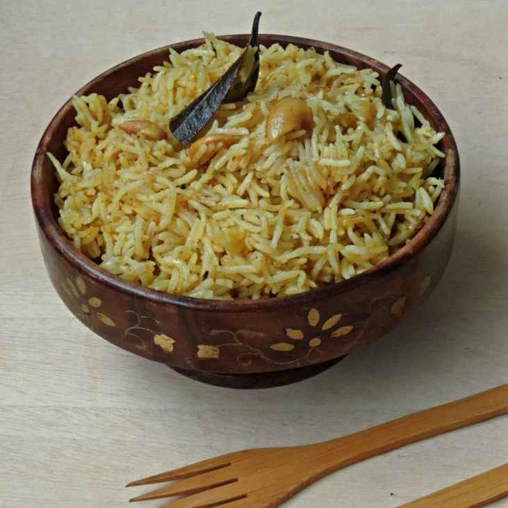 Photo of Cashew coconut milk pulao by Priya Suresh at BetterButter