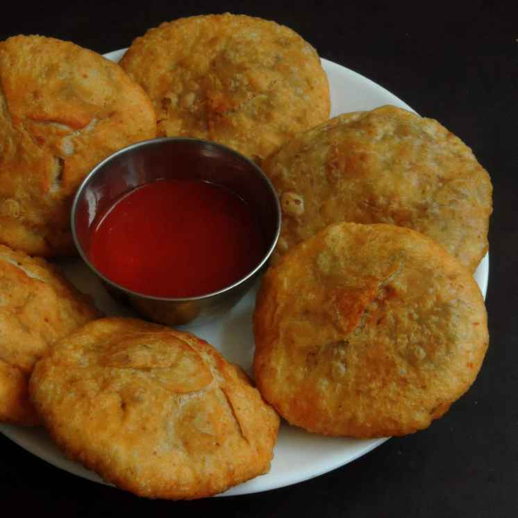 Photo of Rice flakes Onion kachori by Priya Suresh at BetterButter