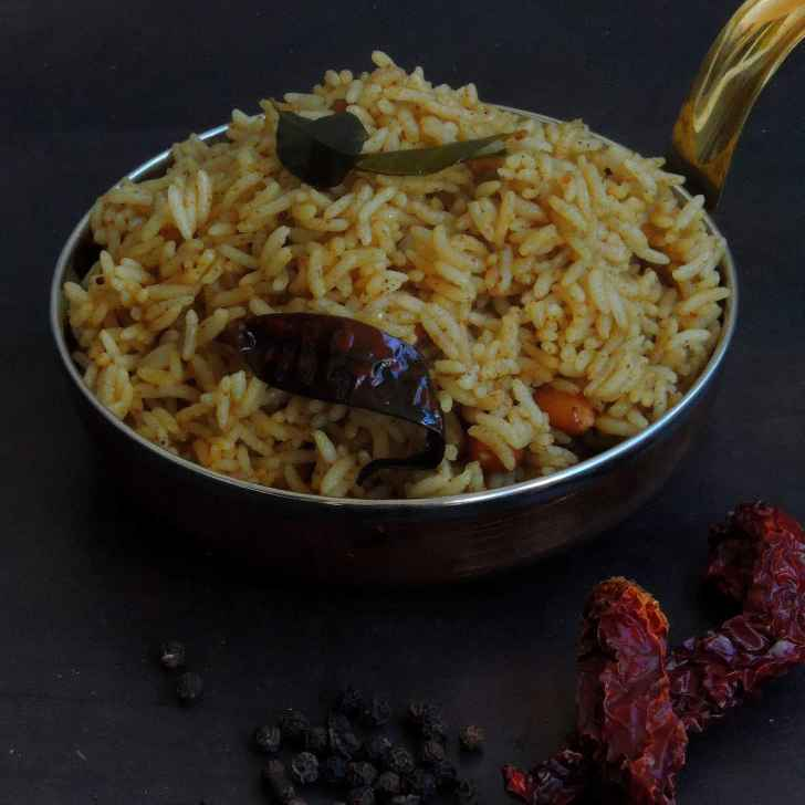 Photo of Andhra style Pepper Tamarind Rice by Priya Suresh at BetterButter