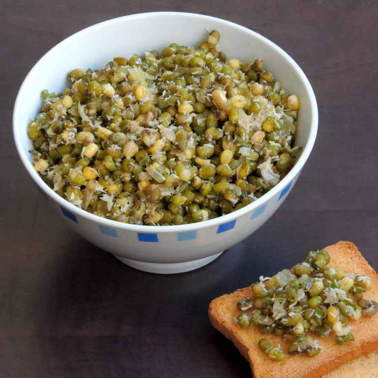 Photo of Sprouted Moongdal Thoran by Priya Suresh at BetterButter