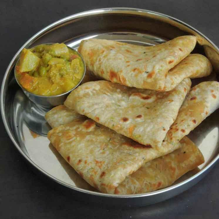 Photo of Zucchini Carrot Tofu Paratha by Priya Suresh at BetterButter