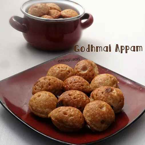 Photo of GODHUMAI APPAM/WHEAT FLOUR APPAM by Priya Tharshini at BetterButter