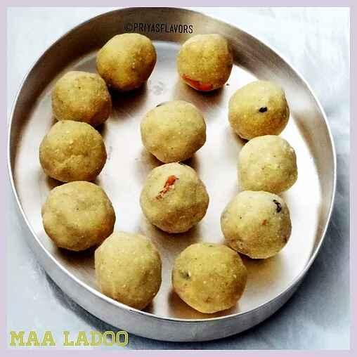 Photo of Maa Ladoo / Roasted Gram Dal Ladoo by Priya Tharshini at BetterButter