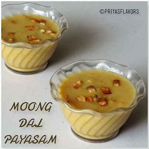 How to make Moong Dal Kheer / Payasam