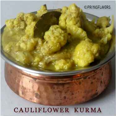 Photo of CAULIFLOWER KURMA / GOBI KURMA by Priya Tharshini at BetterButter