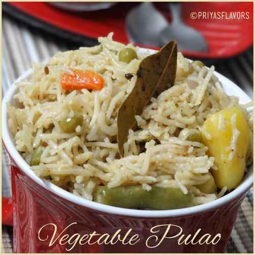 Photo of Vegetable Pulao by Priya Tharshini at BetterButter