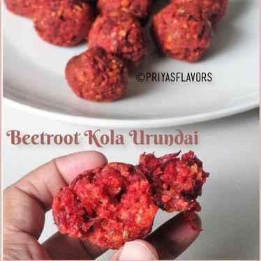 Photo of Beetroot kola urundai by Priya Tharshini at BetterButter