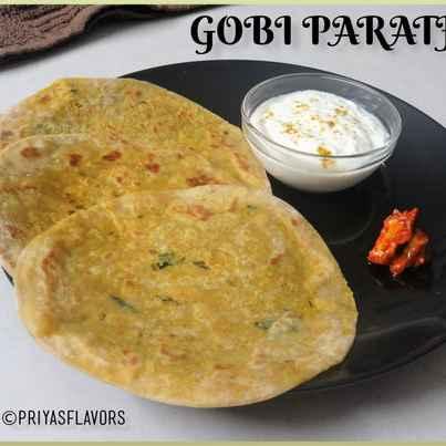 Photo of Gobi Paratha by Priya Tharshini at BetterButter