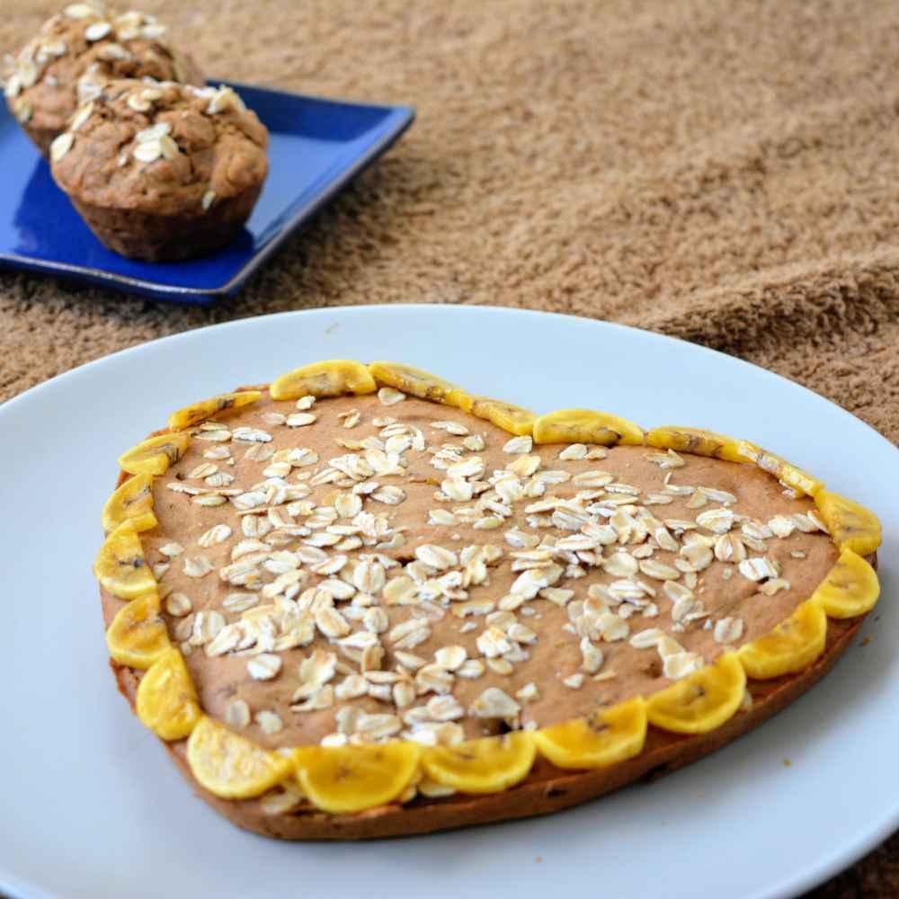 How to make Banana oats dates mini muffins