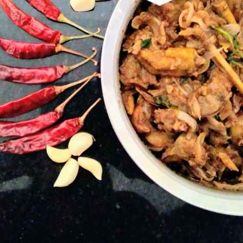 How to make Naatukozhi varuval/ country chicken fry