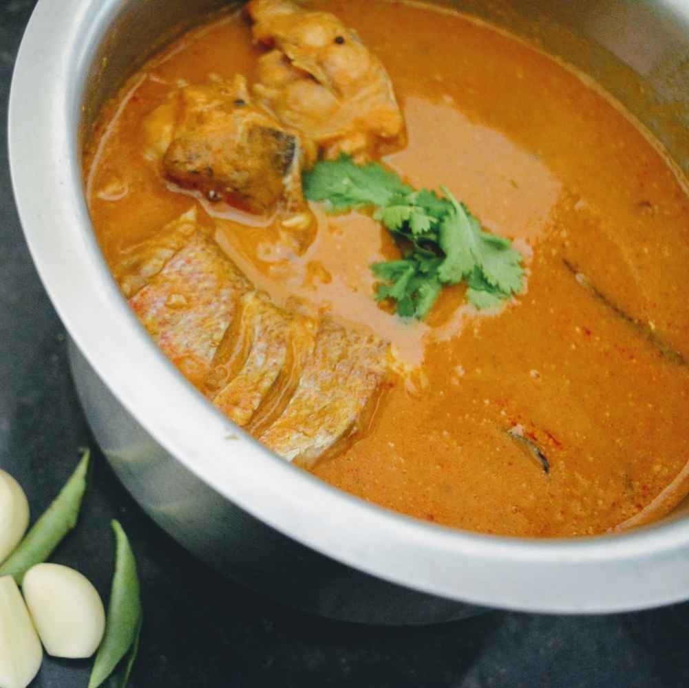 How to make Village style fish curry