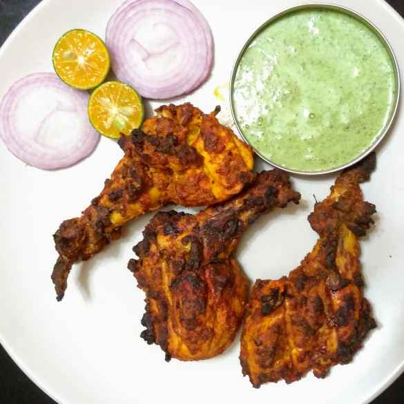 How to make Tandoori chicken in oven