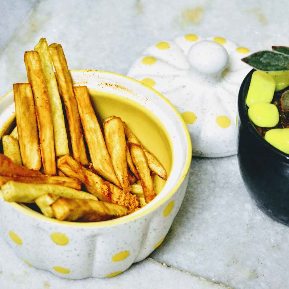 How to make Indian spiced sweet potato fries