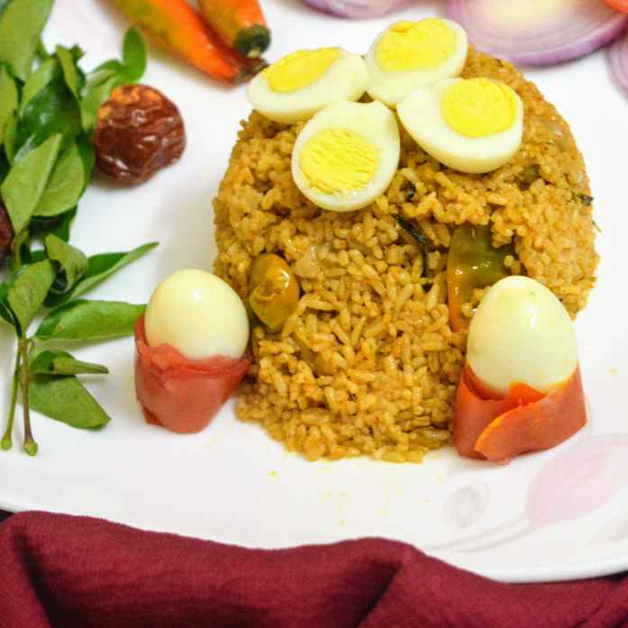 Photo of Quail egg biryani by Priyadharshini Selvam at BetterButter