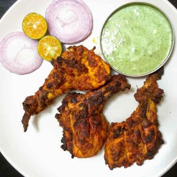 Photo of TANDOORI chicken in oven by Priyadharshini Selvam at BetterButter
