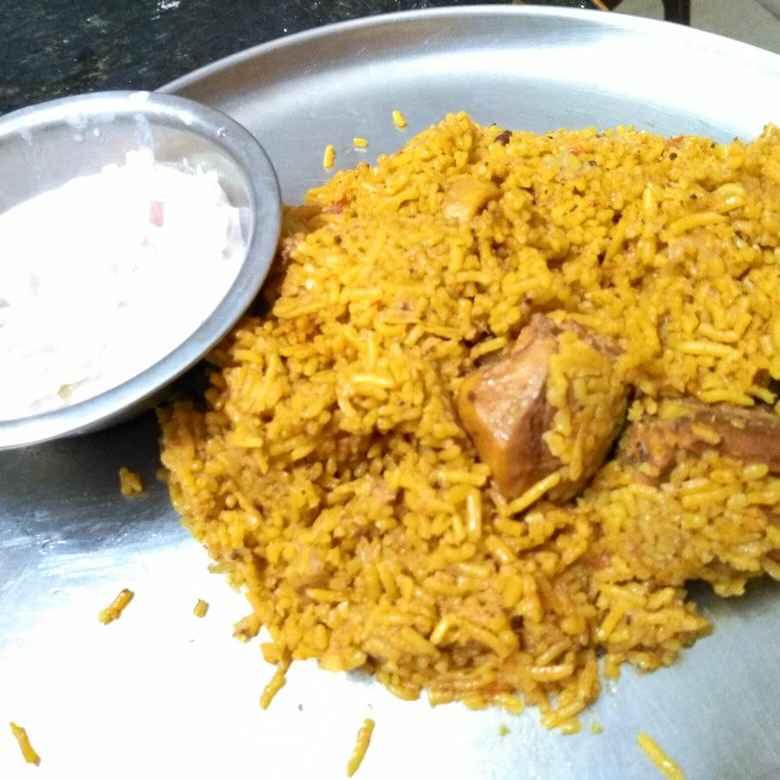Photo of Pressure cooker chicken biryani by Priyadharshini Selvam at BetterButter