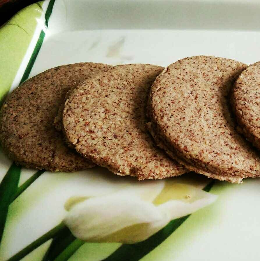 How to make Whole wheat, ragi and almond flour cookies