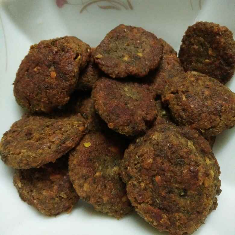 How to make Green moong daal and oats tikki