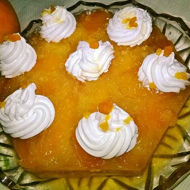 Photo of Upsidedown Orange Cake by Priyanjali Joardar at BetterButter