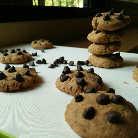How to make Banana coffee chocolate chip cookies