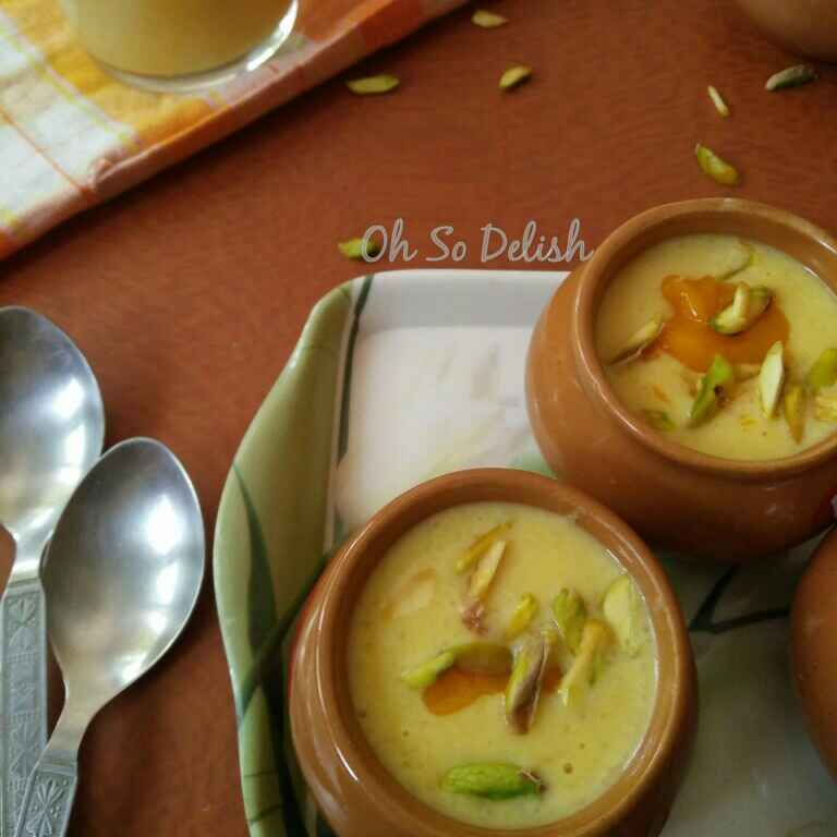 How to make Mango Phirni