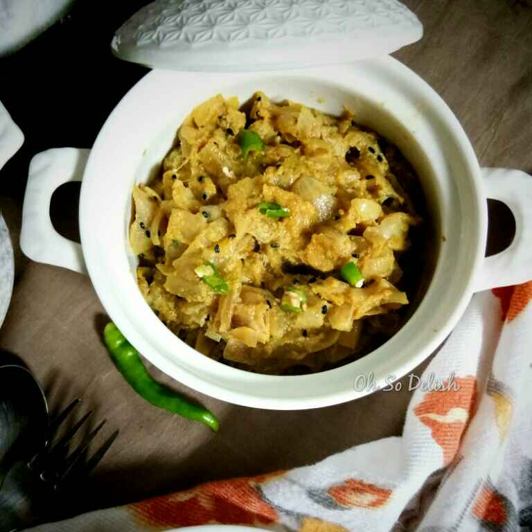 Photo of Pyaaz posto by Priyanjali Joardar at BetterButter