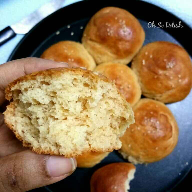 Photo of Whole Wheat Milk Buns by Priyanjali Joardar at BetterButter