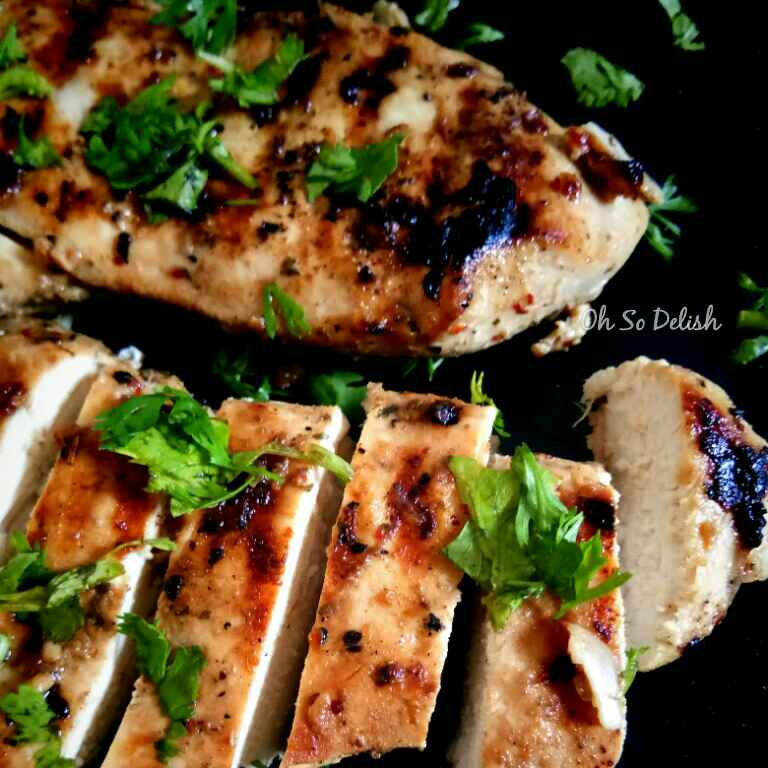 How to make Gondhoraj lime and Syracuse grilled chicken