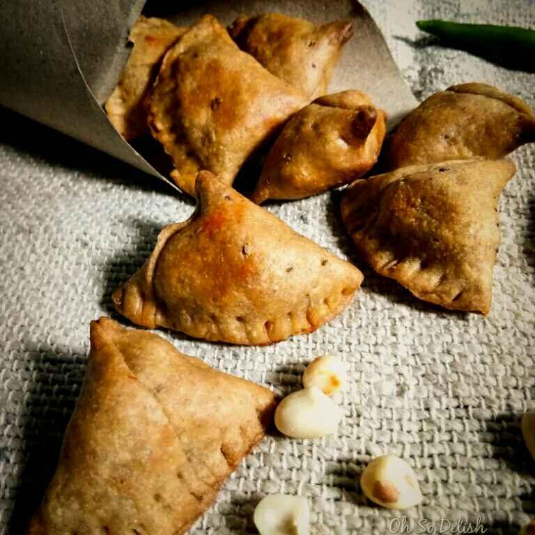 Photo of Baked Bengali style shingara (Bengali style samosa) by Priyanjali Joardar at BetterButter