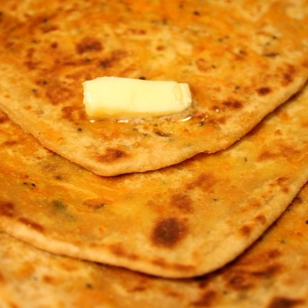 How to make Carrot Paratha