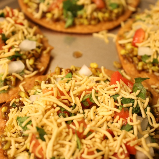 Photo of Wheat Sev Puri by Priyanka Bagdi at BetterButter