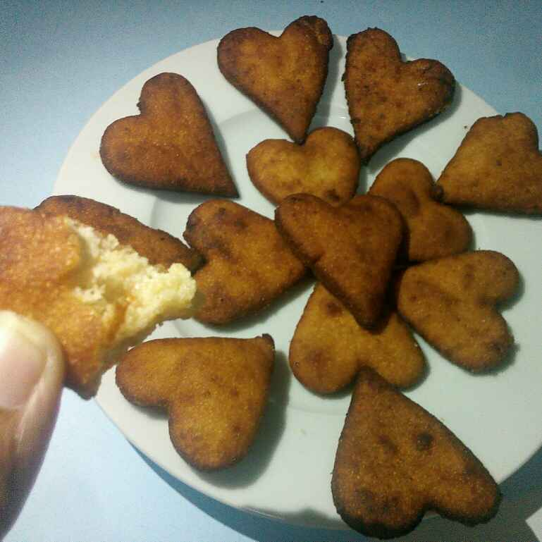 How to make The little hearts