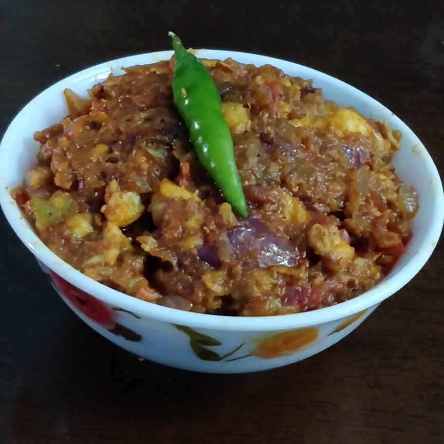 Photo of Spicy prawn bharta by Priyanka Chakraborty at BetterButter