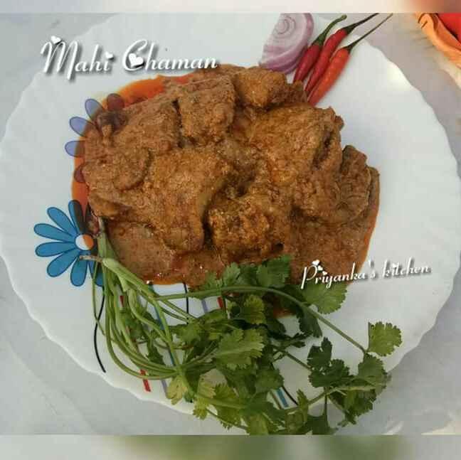 Photo of Mahi chaman (Kashmiri dish) by Priyanka Barua Chakraborty at BetterButter