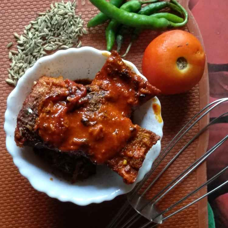 How to make Ruhu curry with snauf without onion