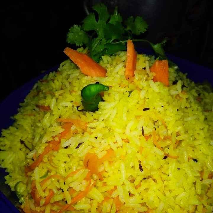 How to make গাজর রাইস