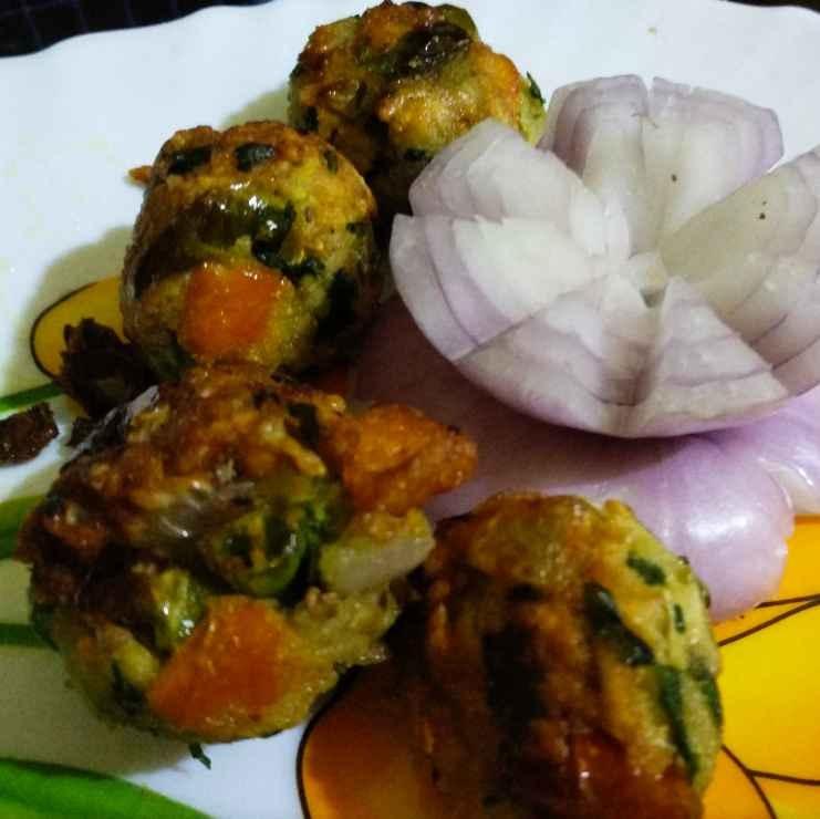 Photo of Puffed rice pakora by Priyanka Chakroborty at BetterButter