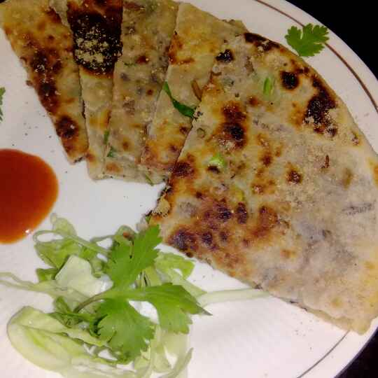 How to make Mac paratha