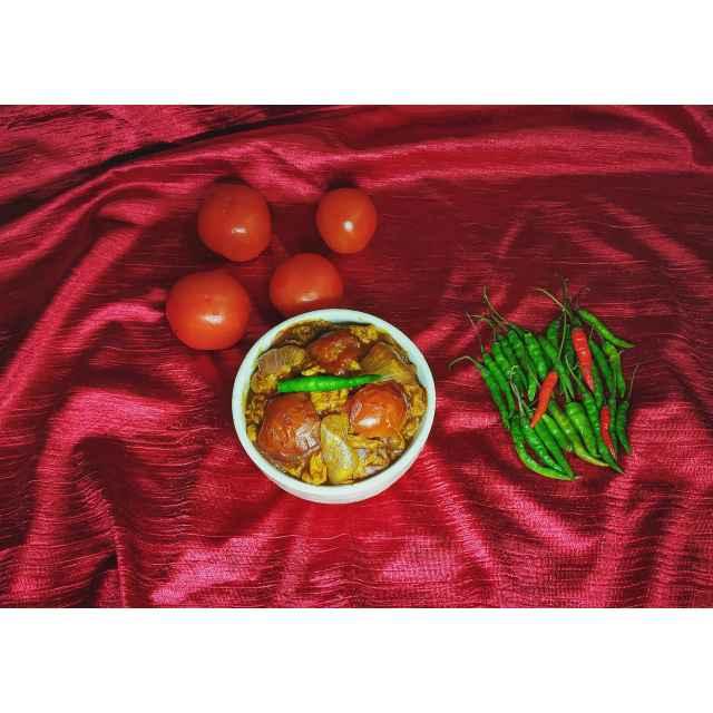Photo of Tomato Egg Chinese Curry by Priyanka Nandi at BetterButter