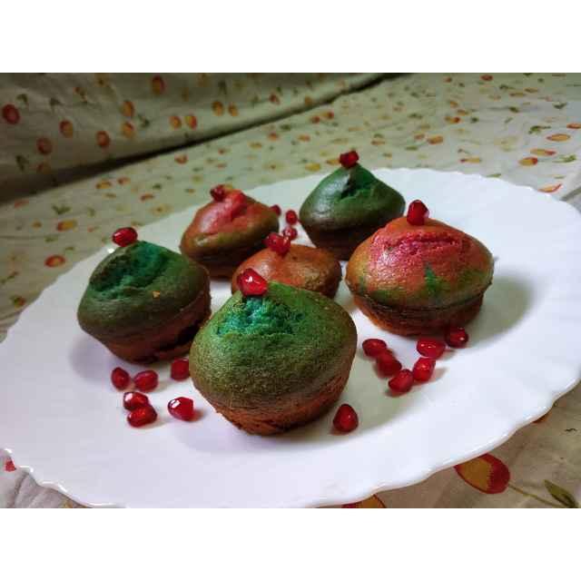 Photo of Freestyle Colourful Muffin by Priyanka Nandi at BetterButter