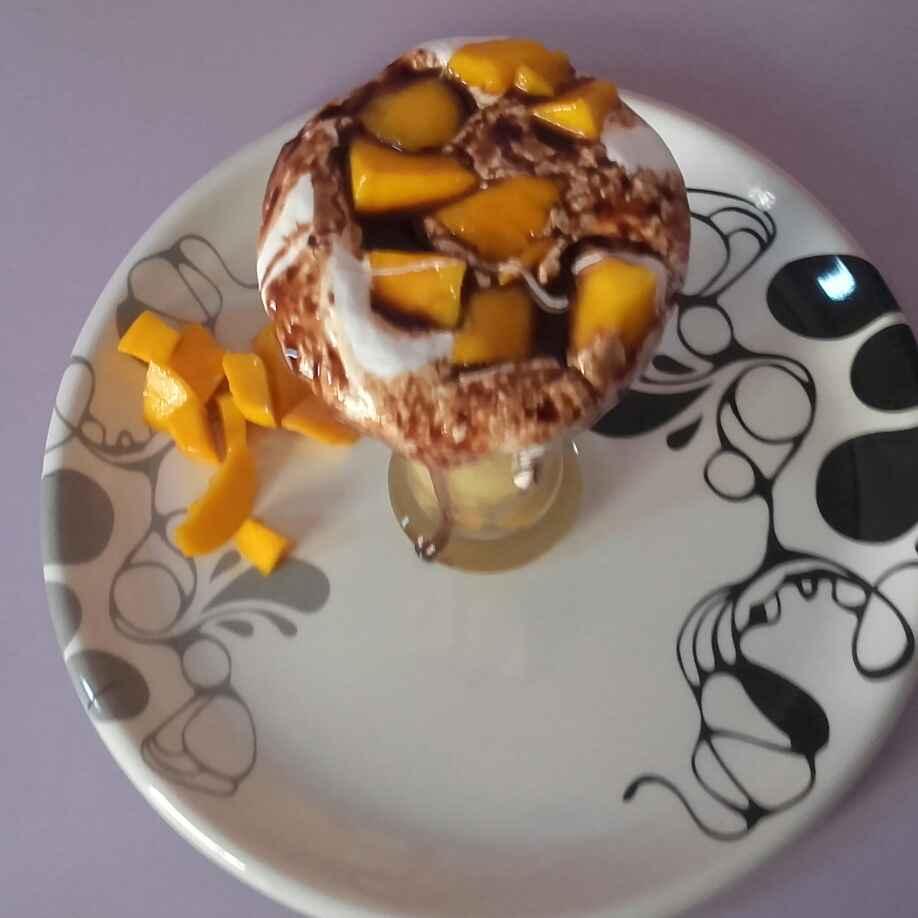 Photo of Choco mango mastani by Uma Purohit at BetterButter