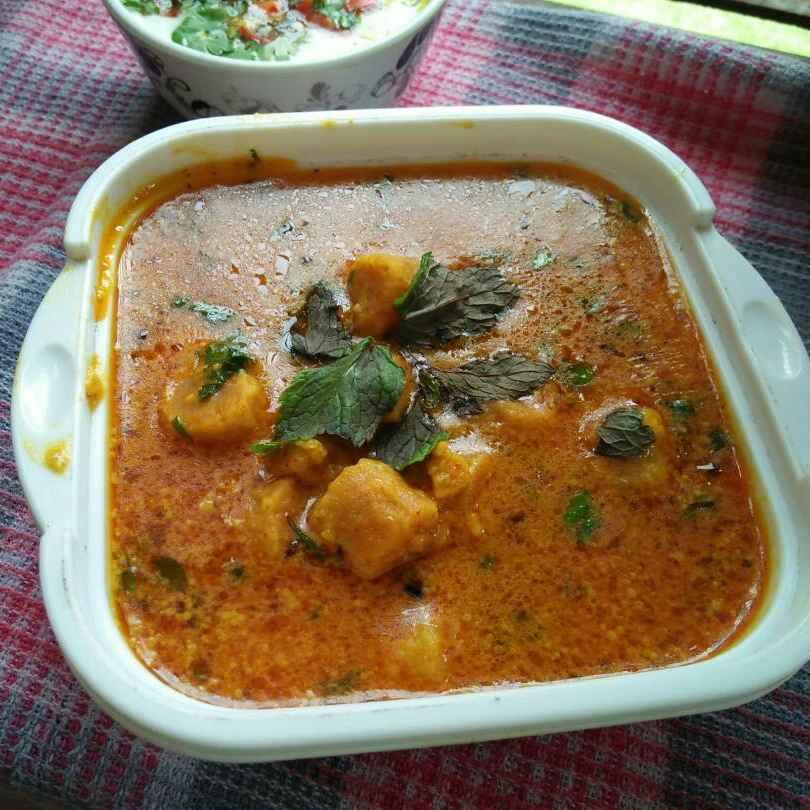 How to make Rajasthani gatte ki subzi