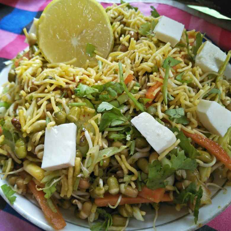 Photo of Ankurit bhel by Uma Purohit at BetterButter