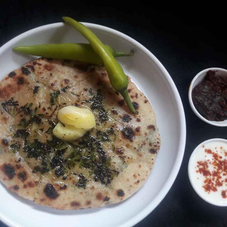 How to make Aalu paneer kulcha