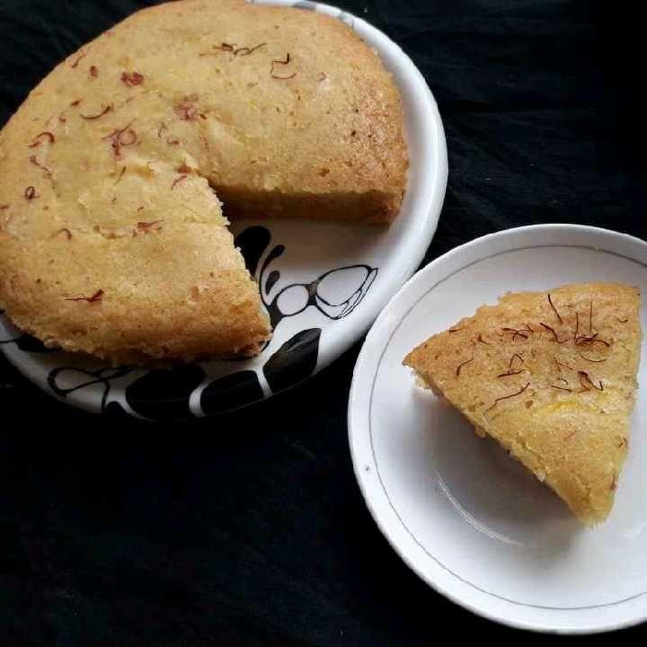 How to make kesar milk mawa Cake