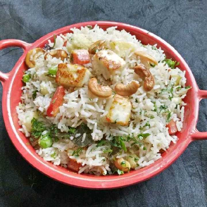 How to make Navratan pulav